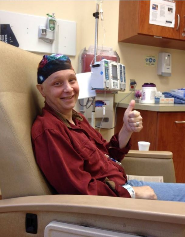 September 22nd, 2014--last chemo treatment.